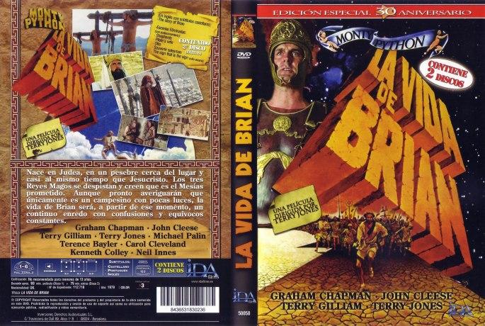 La vida de Bryan, carátula VHS
